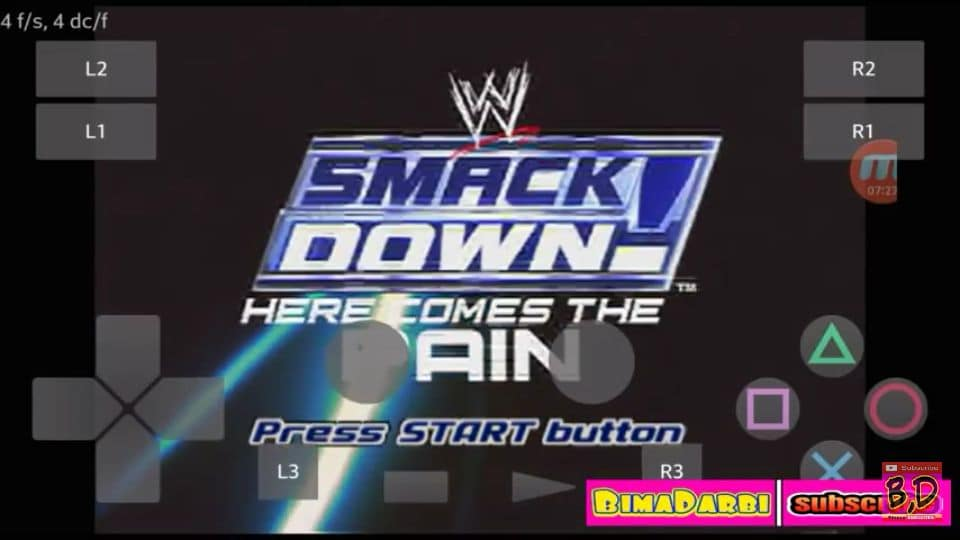 (PS2 Android) WWE SmackDown! Here Comes the Pain | Play! Emulator Android #1