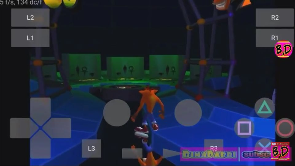 (PS2 Android) Crash Bandicoot: The Wrath of Cortex | Play! Emulator Android #3