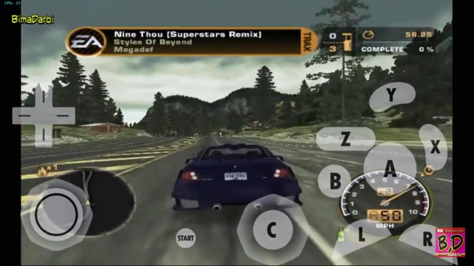 (GameCube Android) Need for Speed: Most Wanted | Dolphin Emulator Android #2