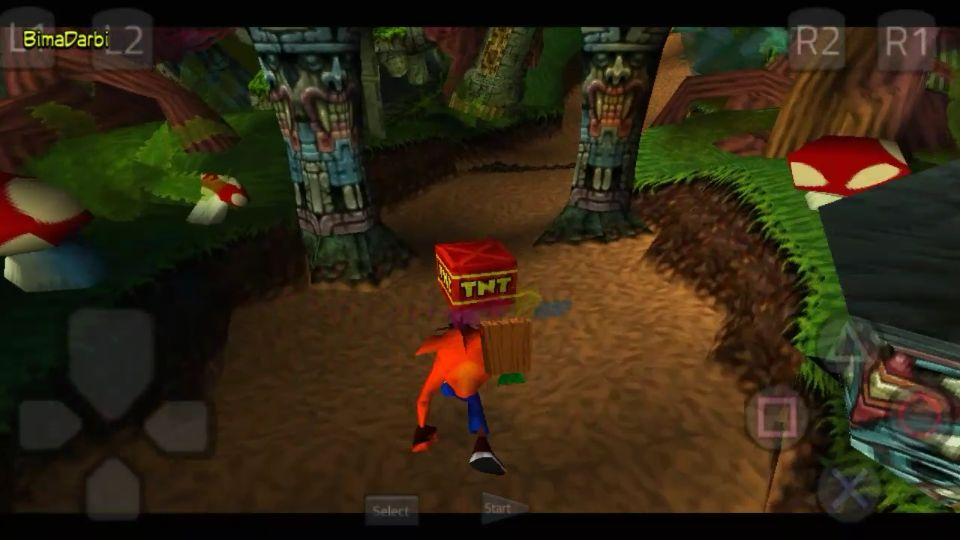 PS1 Android) Crash Bandicoot | ePSXe Android | HD Graphics