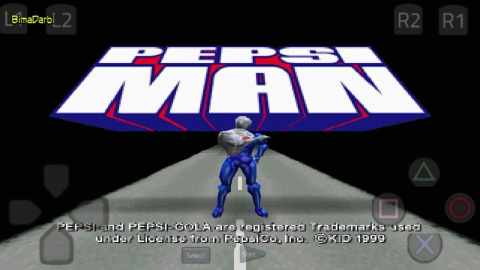 (PS1 Android) PepsiMan HD | ePSXe Android #1