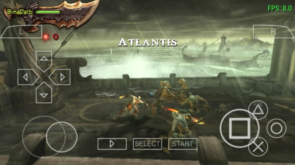 (PSP Android) God of War: Ghost of Sparta | PPSSPP Android #2