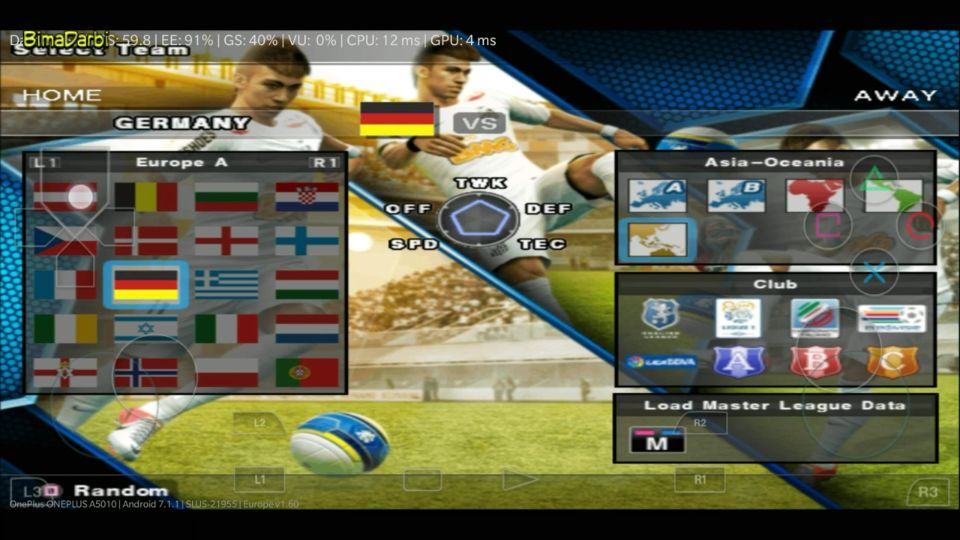 PS2 Android) Pro Evolution Soccer 2013 (PES 2013) | DamonPS2