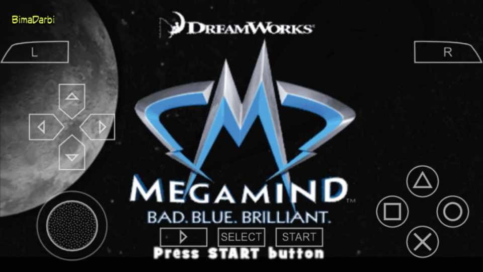 (PSP Android) Megamind: The Blue Defender | PPSSPP Android #1