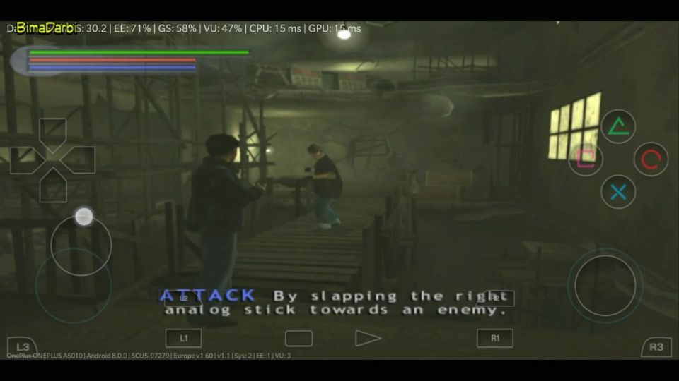 (PS2 Android) Jet Li: Rise to Honor   DamonPS2 Pro Android #3