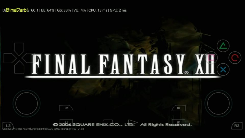 (PS2 Android) Final Fantasy XII | DamonPS2 Pro Android #1