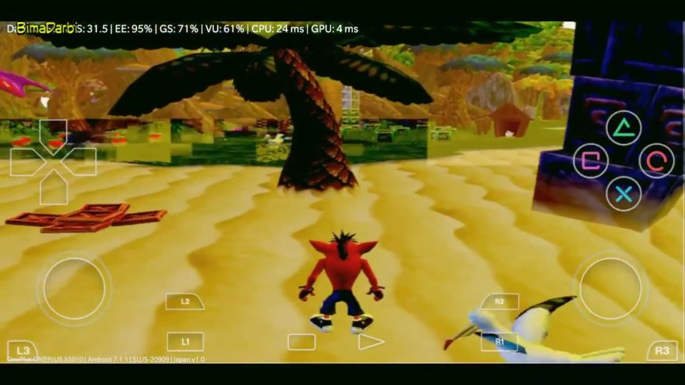 (PS2 Android) Crash Twinsanity | DamonPS2 Pro Android #3