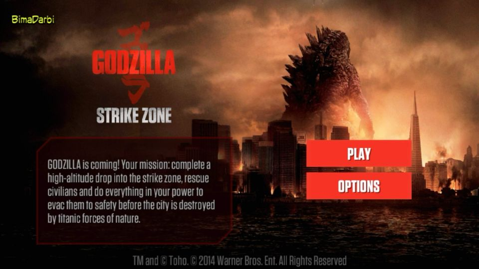 (Game Android HD) Godzilla Strike Zone | [Action, Survival, Horor, FPS, 3D, Offline] #1