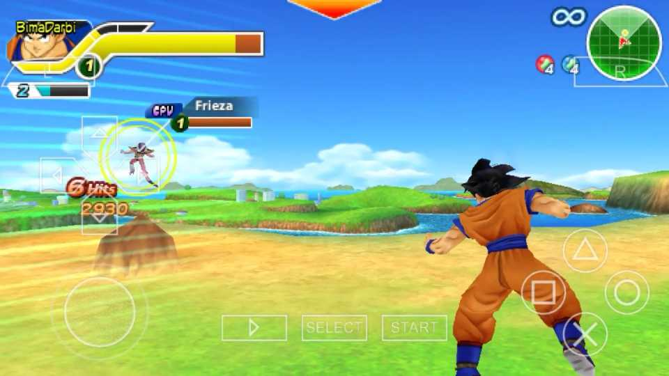 (PSP Android) Dragon Ball Z: Tenkaichi Tag Team | PPSSPP Android #2
