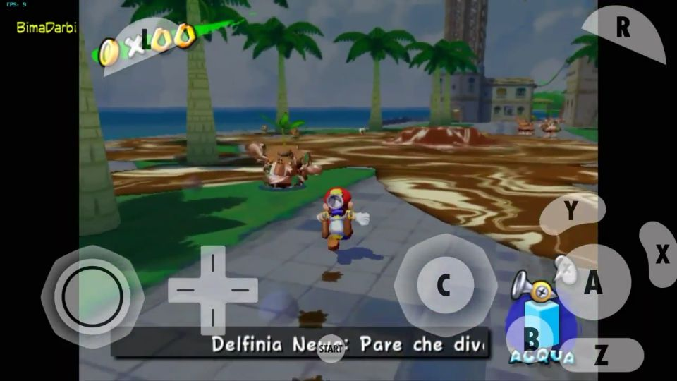 (GameCube Android) Super Mario Sunshine | Dolphin Emulator Android #3