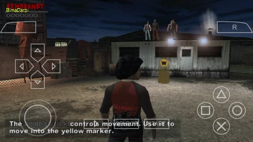 "(PSP Android) PPSSPP Android Testing Game ""The Warriors"""