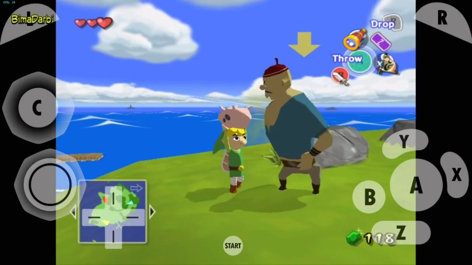 (GameCube Android) The Legend of Zelda The Wind Waker | Dolphin Emulator Android #3