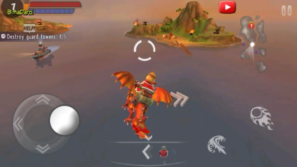 (Game Android HD) SKY ASSAULT: 3D Flight Action | [Action, HD, Fly, Offline] #3