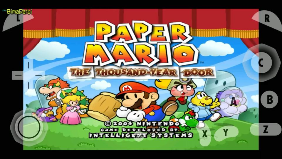(GameCube Android) Paper Mario The Thousand Year Door | Dolphin Emulator Android #1