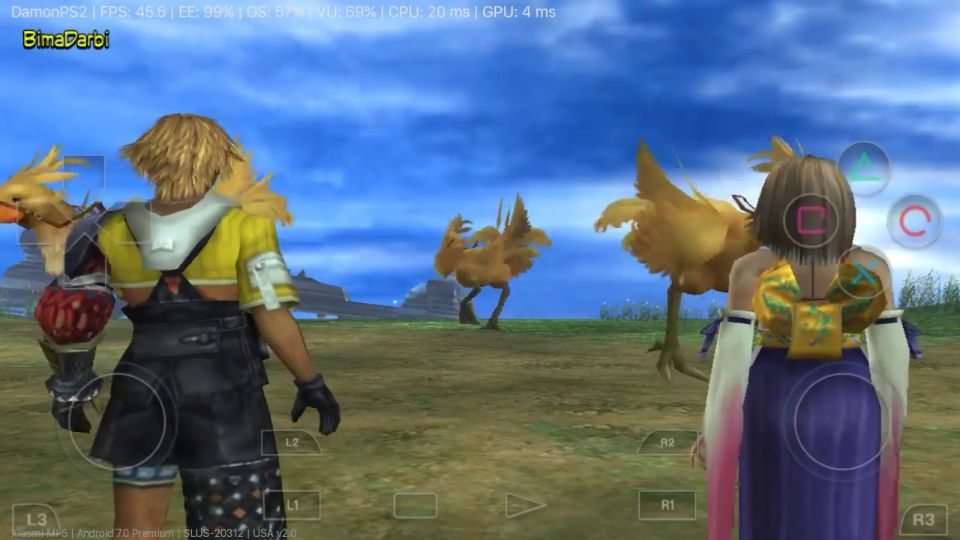 (PS2 Android) Final Fantasy X | DamonPS2 Pro Android #3