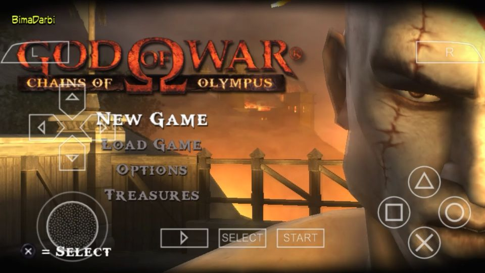 PSP Android) God of War: Chains of Olympus | PPSSPP Android
