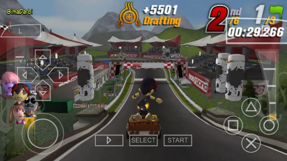 (PSP Android) ModNation Racers | PPSSPP Android #2