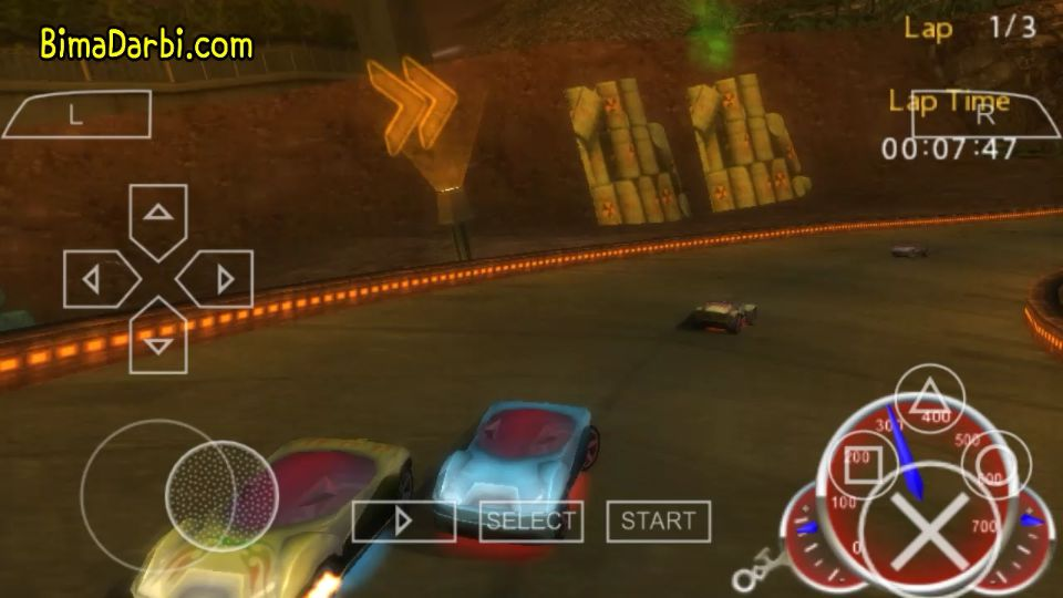(PSP Android) Hot Wheels Ultimate Racing | PPSSPP Android #3