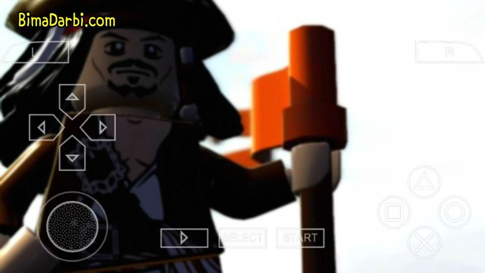 (PSP Android) Lego Pirates of the Caribbean: The Video Game | PPSSPP Android #2