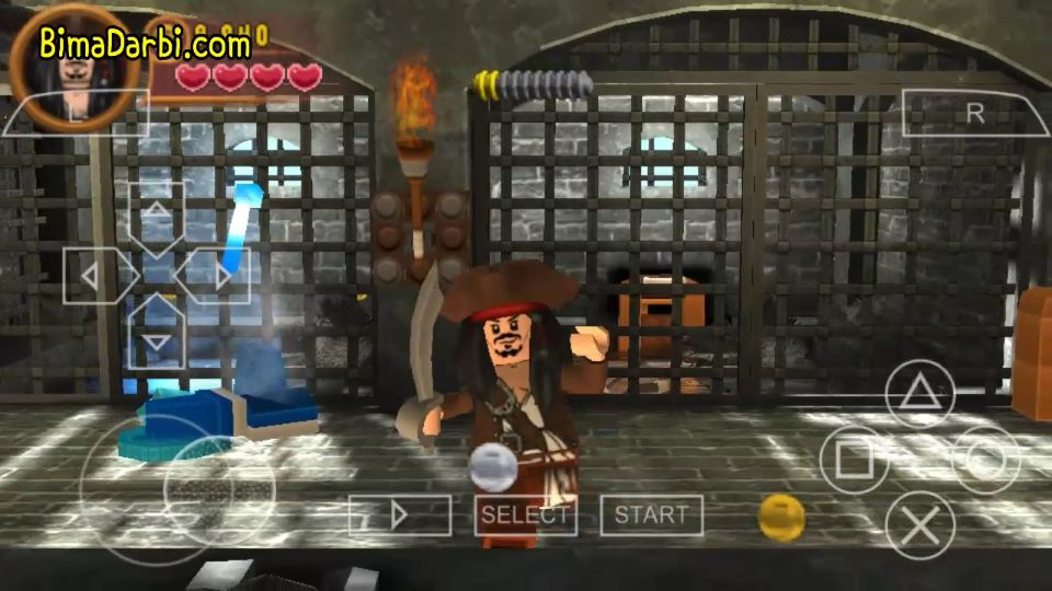 PSP Android) Lego Pirates of the Caribbean: The Video Game