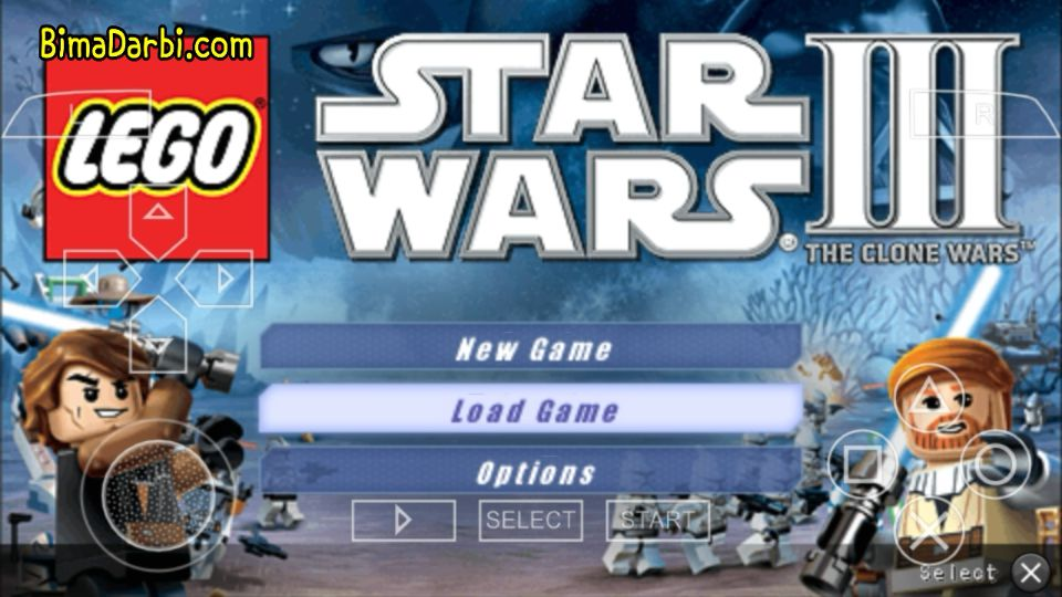 (PSP Android) Lego Star Wars III: The Clone Wars | PPSSPP Android #1