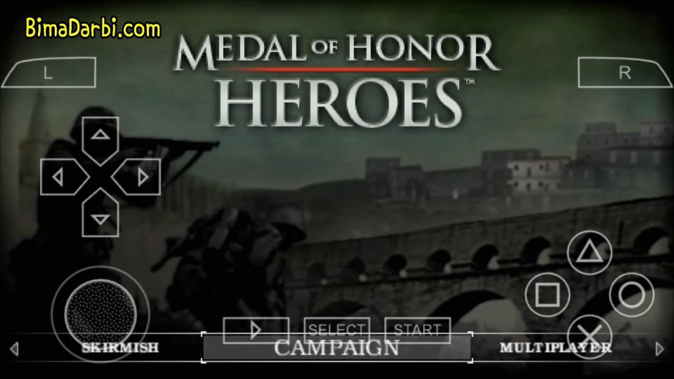 (PSP Android) Medal of Honor: Heroes | PPSSPP Android #1