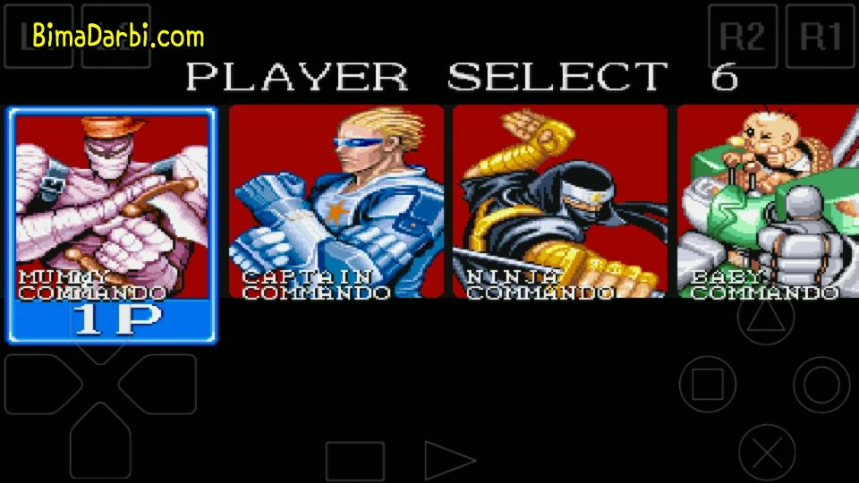 (PS1 Android) Captain Commando | ePSXe Android #2