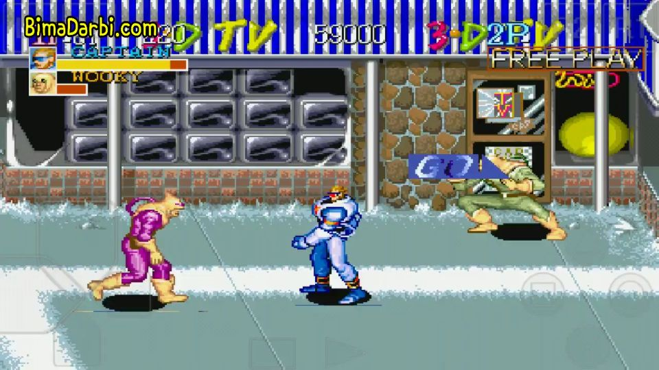 PS1 Android) Captain Commando | ePSXe Android | HD Graphics