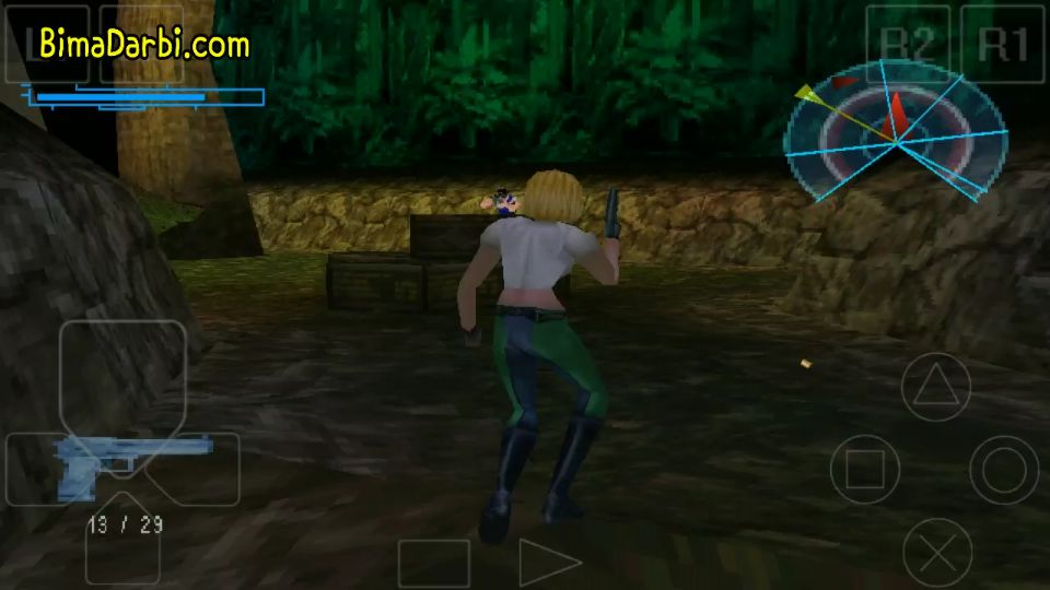 (PS1 Android) Danger Girl   ePSXe Android #3