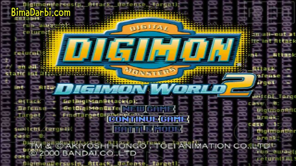 (PS1 Android) Digimon World 2 | ePSXe Android #1