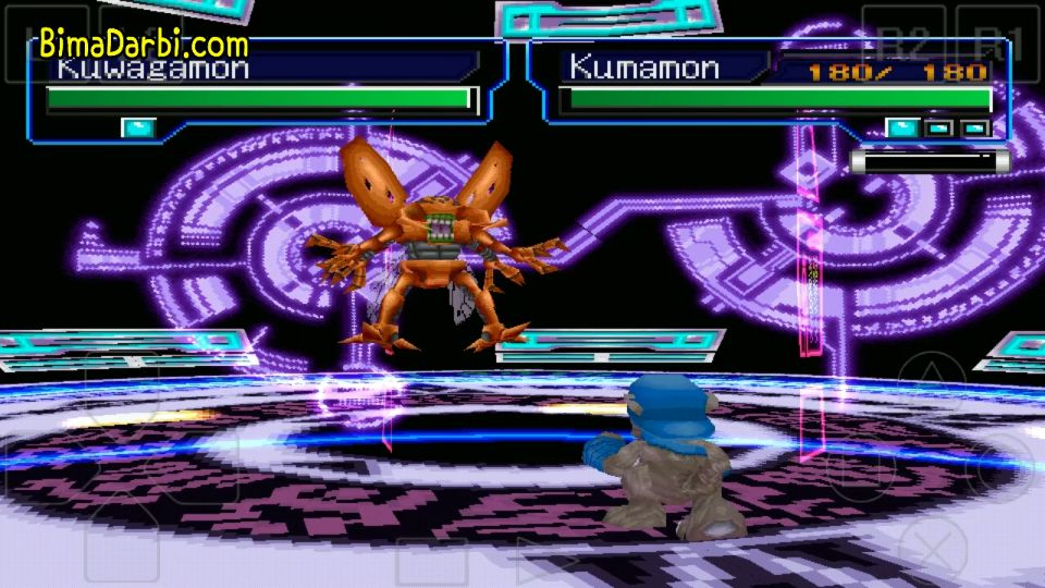 (PS1 Android) Digimon World 3   ePSXe Android #3