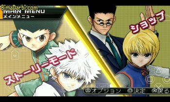 (PSP Android) Hunter x Hunter: Wonder Adventure | PPSSPP Android | Best Setting For Android