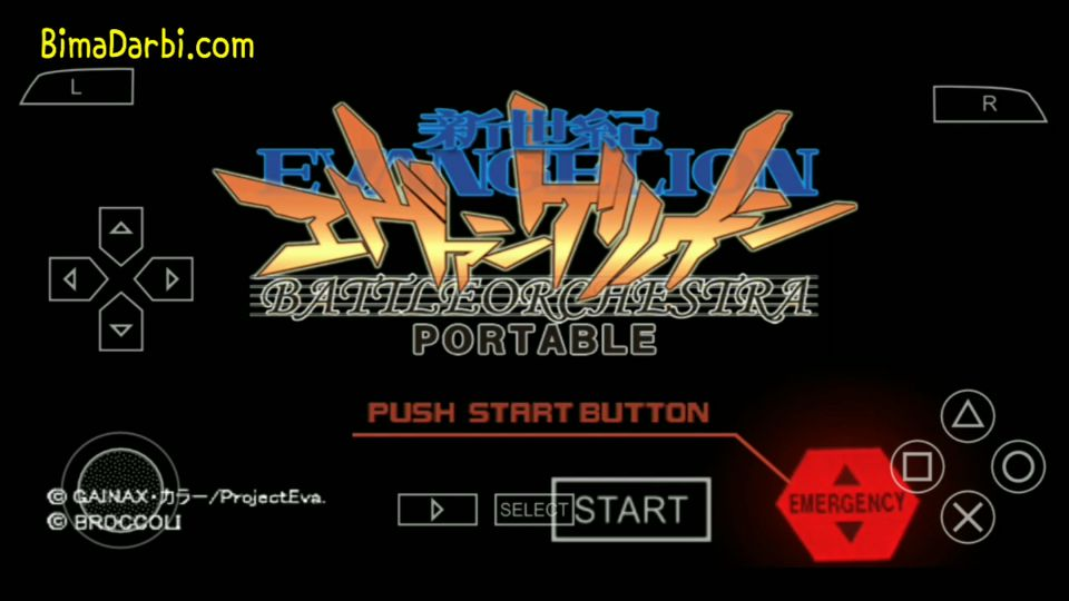 (PSP Android) Neon Genesis Evangelion: Battle Orchestra | PPSSPP Android #1