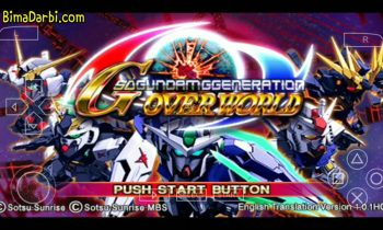 (PSP Android) SD Gundam G Generation Overworld   PPSSPP Android   Best Setting For Android