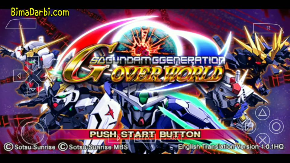 (PSP Android) SD Gundam G Generation Overworld | PPSSPP Android #1