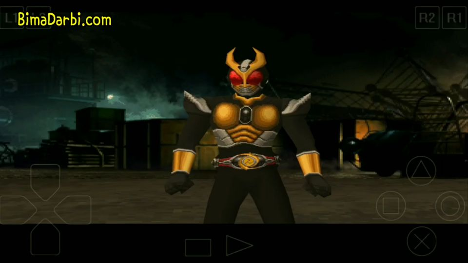(PS1 Android) Kamen Rider Agito (video game) | ePSXe Android #3