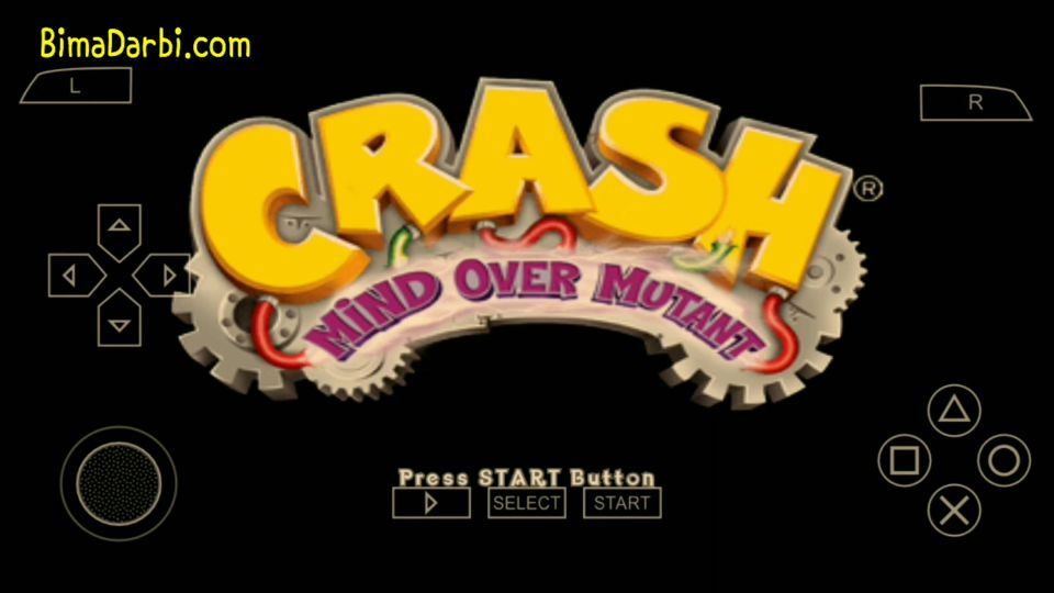 (PSP Android) Crash: Mind over Mutant | PPSSPP Android #1