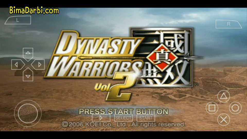 (PSP Android) Dynasty Warriors Vol. 2 | PPSSPP Android #1