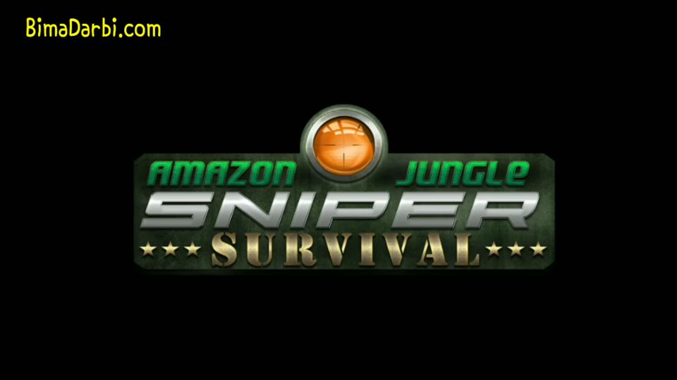 (Game Android HD) Amazon Jungle Sniper: Survival Game | [Simulation, Shooter, Offline] #1