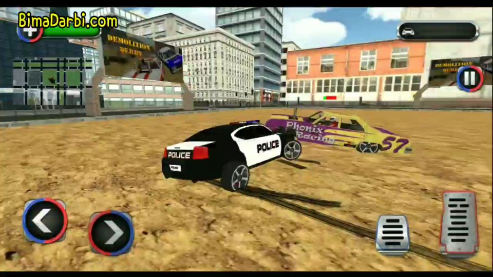 (Game Android HD) Police Demolition Derby Racing | [Racing, Open World, Simulation, Offline] #3