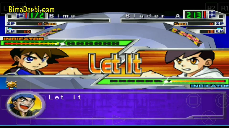 (PS1 Android) Beyblade: Let it Rip | ePSXe Android #3