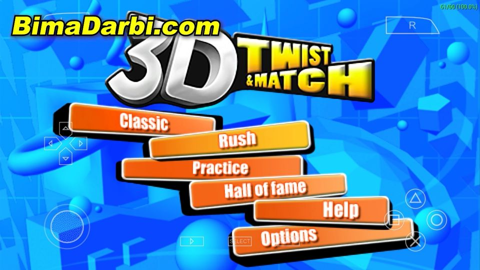 (PSP Android) 3D Twist & Match | PPSSPP Android #1