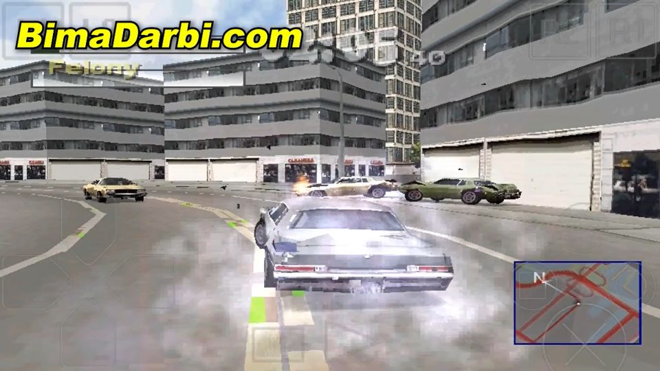 (PS1 Android) Driver 2 - Back on the Streets | ePSXe Android #3