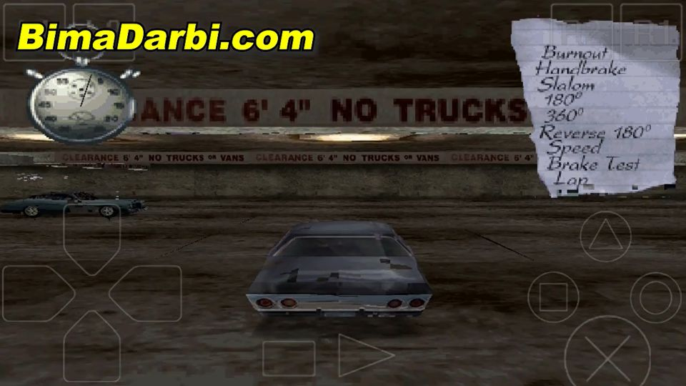 (PS1 Android) Driver: You Are the Wheelman | ePSXe Android #3