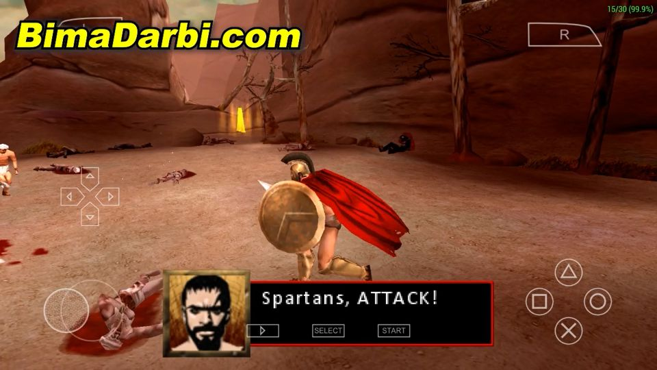 (PSP Android) 300: March to Glory | PPSSPP Android #2