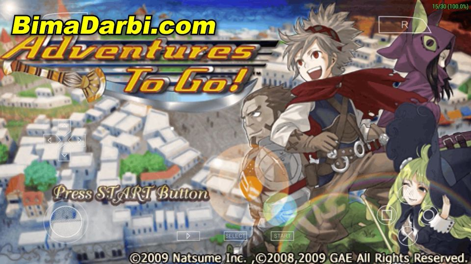 (PSP Android) Adventures to Go! | PPSSPP Android #1