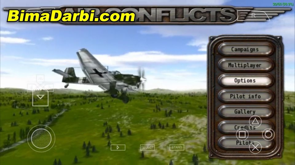 (PSP Android) Air Conflicts: Aces of World War II | PPSSPP Android #1