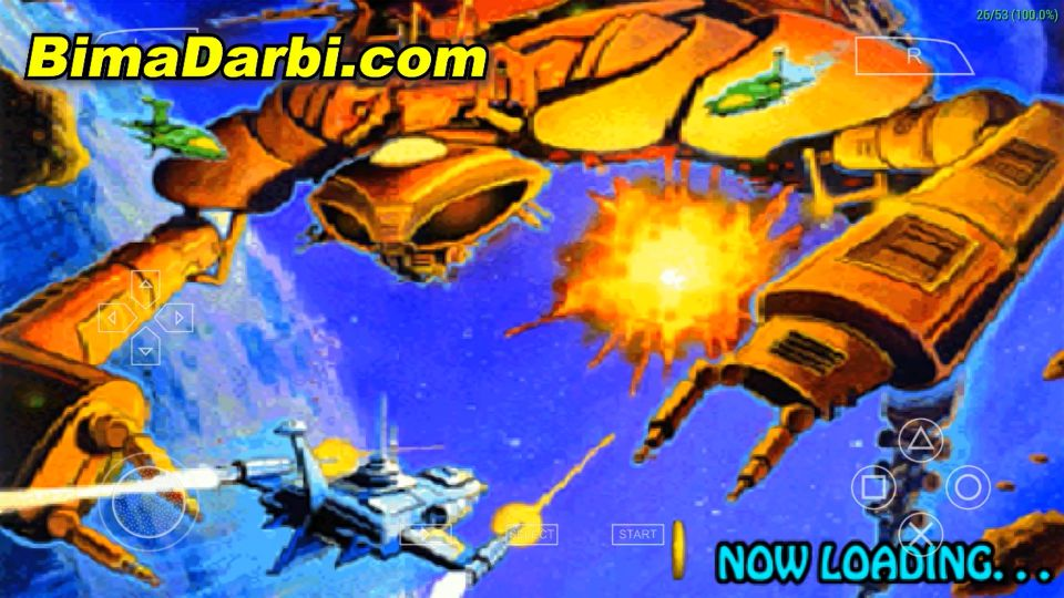(PSP Android) Alpha Mission 2 | PPSSPP Android #1