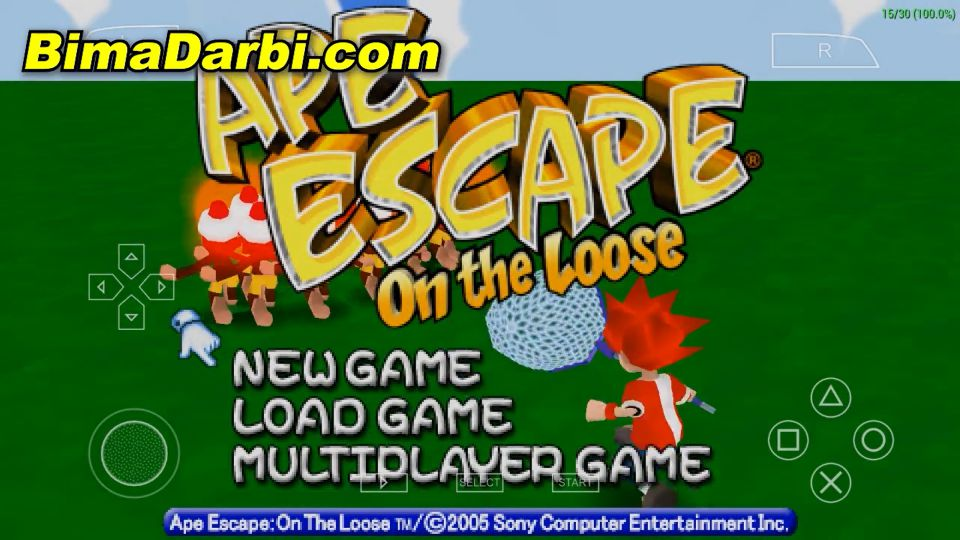 (PSP Android) Ape Escape: On the Loose | PPSSPP Android #1