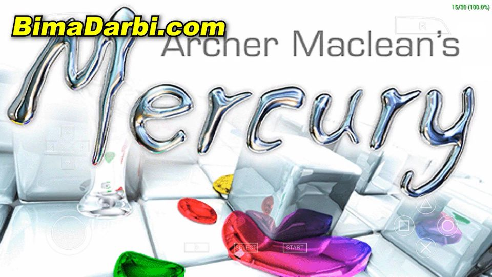 (PSP Android) Archer Maclean's Mercury | PPSSPP Android #1